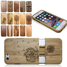 Real Natural Bamboo Wood Wooden Hard Case Cover Shell for iPhone 6 plus