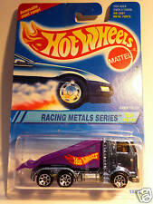 HOT WHEELS #337 RACING METALS SERIES RAMP TRUCK BLUE