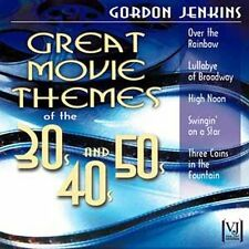 Great Movie Themes of the 30s, 40s and 50s by Gordon Jenkins (CD, Mar-2006, Coll