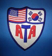 American Taekwondo Associati MMA Martial Arts ATA TKD Uniform Gi Patch 104