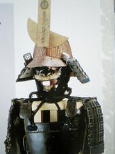 FREE SHIPPING!!  Japanese Samurai Armor Kabuto Helmet Flag Book Rare ENGLISH!!