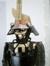 FREE SHIPPING!!  Japanese Samurai Armor Kabuto Helmet Flag Book Rare ENGLISH!!
