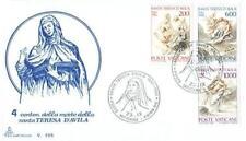 Vatican 1982 Mi FDC 808-10 Teresa of Avila