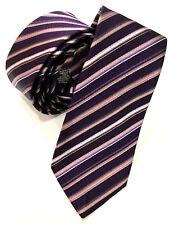 Paul Smith Tie Multi-Rayures 6cm Étroit Lame Fabriqué en Italie Très Rare