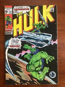 Incredible Hulk #137 (1971) VF 8.0 Abomination Herb Trimpe 🔥HIGH GRADE🔥