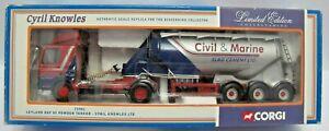 Corgi 75901 1/50 Leyland DAF 85 Powder Tanker Cyril Knowles - Boxed - (3340)
