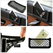 Useful Car Seat Side Back Storage Resilient Net Bag Phone Holder Organizer Tool