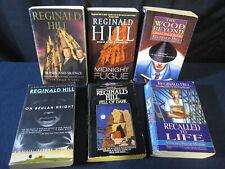 Reginald Hill: Set of 6 Mysteries - Incl. Shipping!!