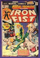 Marvel Premiere 22 1975 1.8-2.0 Gd-/Gd Iron Fist - Ninja - Death Duel!