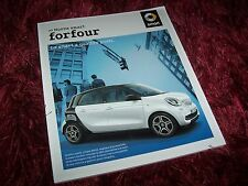 Catalogue / Brochure SMART Forfour 2014 / 2015 //