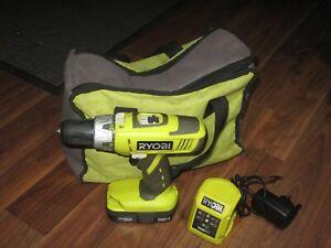 Ryobi  LLCDI1802  One+ Hammer combi Drill Driver + battery and charger + BAG