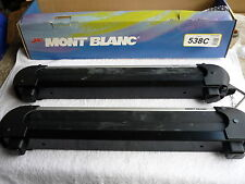 MONT BLANC ROOF RACK LOCKING SKI ARMS 4 PAIR  BRAND NEW ONLY  $189 3 Year WTY