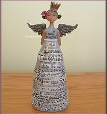 "DEAR DAUGHTER ANGEL FIGURE BY KELLY RAE ROBERTS 7.5"" HIGH FREE U.S. SHIPPING"