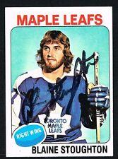 Blaine Stoughton #265 signed autograph auto 1975-76 Topps Hockey Trading Card