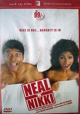 Neal 'N' Nikki  - Bollywood Movie DVD Uday Chopra & Tanisha
