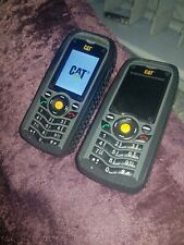 X2 joblot Caterpillar B25 mobile phones rugged shockproof waterproof builders