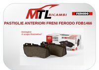 PASTIGLIE ANTERIORI FRENI FERODO FDB1466W FIAT FIORINO