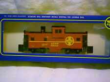 """AHM HO scale ATSF Santa Fe Extended Vision Caboose  """"NEW"""""""
