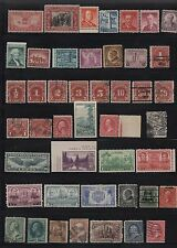VERY NICE LOT OF MINT & USED U S STAMPS