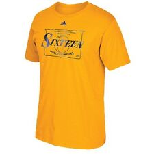 New NWT Los Angeles Lakers adidas Local Sixteen World Championships Small Shirt
