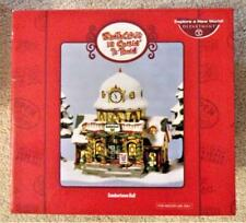 Department 56 Christmas Sombertown Hall Santa Claus Is Comin 2 Town Village 2005