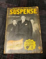 Suspense # 1 Marvel/Atlas 1949 Photo Cover Everett/Powell Art -Scarce- Radio/TV
