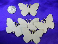10 x Butterfly Wood Cutout DIY decorate create party craft gift