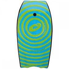 "Osprey 41"" Body Board / Boogie Board with Leash Spiral Blue"