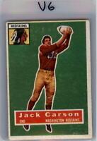 1956 Topps #1 Johnny Carson SP - VG