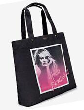 "Victoria's Secret Black Tote Bag Canvas,  Large, ""Hello Bombshell"""