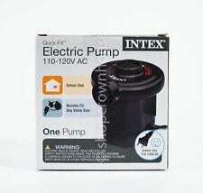 Intex Electric Pump Quick-Fill Air Bed Mattress Multi-Use 110-120V Ac #66619Wl
