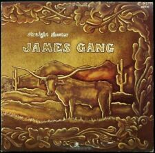 JAMES GANG 'Straight Shooter' Near Mint Never played 1972 white label Promo LP