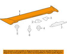 TOYOTA OEM 09-10 Corolla-Spoiler / Wing Kit 7687102907