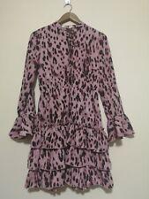 Ivivi - pink leopard print dress - medium - C553