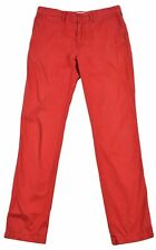 Lacoste FOR MENS Regular Fit Straight Pants Trousers Size FR-40, US-32 Red
