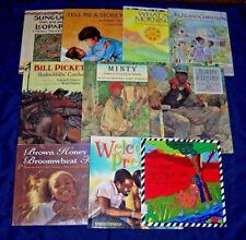 Lot of 10 African American Black Studies Children's Books ~ all Hc in Dj ~ Nice!