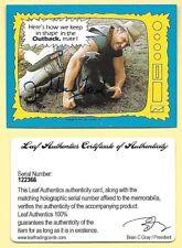 2017 Leaf Buybacks '87 Topps WWF #68 Outback Jack On Card Autograph COA