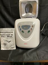 Sunbeam Programmable Bread Maker Machine White 5891 Automatic EUC Manual Recipe