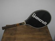 VINTAGE PERSONAL BJORN BORG BANCROFT WOOD TOURNAMENT PLAY TENNIS HAND CRAFTED