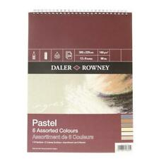 Daler Rowney Ingres Pastel 6 Assorted Colours Spiral Pad 12 X 9""
