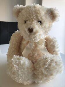 "GUND Huggins 15041 Blonde Soft Fluffy Bear 17"" Plush Toy UNUSED"