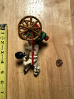VINTAGE/ANTIQUE CAST IRON JOCKEY AND HORSE TOY