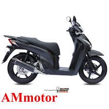 Scarico Completo Mivv Honda Sh 125 2002 02 Terminale Stronger Black Moto Scooter
