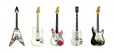 Jimi Hendrix's Guitars Greeting Card, DL Size