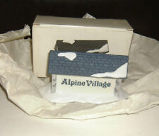New Alpine Village Sign Heritage Village Collection 65714 Department 56