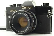 CANON FTb-N QL BLACK w/ FD 50mm F/1.8 SC LENS KIT SLR 35mm FILM CAMERA