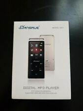 Dansrue M01 16GB MP3 Player Audio Music Player FM Radio/Voice Recorder