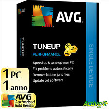 AVG TuneUp 2021 1 PC 1 ANNO / TuneUp Utilities | Windows ESD UE IT