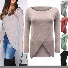 Zip Long Sleeve Regular Size Jumpers & Cardigans for Women