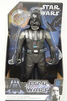 "12"" Large Darth Vader Star Wars Action Figure - Poseable Figurine"